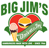 Big Jim's Drive In Logo